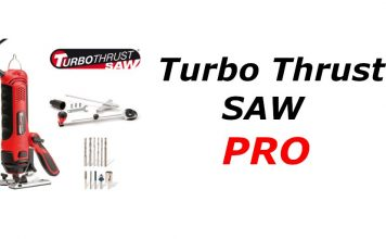 Recensione Turbo Thrust Saw Pro