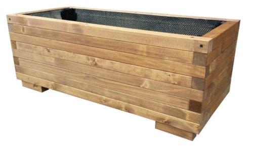 Total Wood 2012 fioriera in legno per esterno