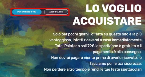 prezzo total painter