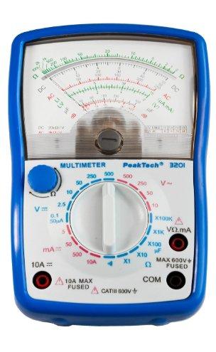 Tech multimetro analogico CAT III 600 V