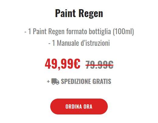 paint regen prezzo