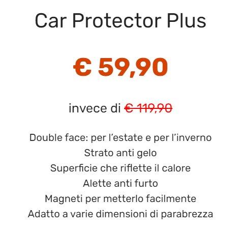 Car Protector Plus prezzo