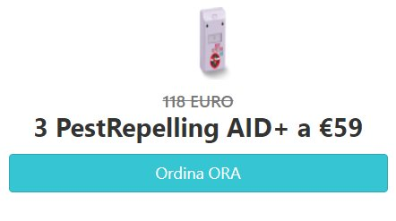 Pest Repelling AID prezzo
